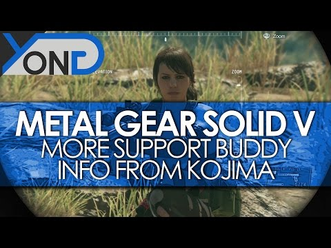 Metal Gear Solid V - More Support Buddy Info from GameSpot's Kojima Q&A
