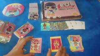 COLECCIÓN CARDS DE L.O.L. EDITORIAL STARS KIDS - LOL SURPRISE