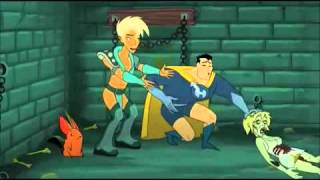 Drawn Together - Clara gets her hands off