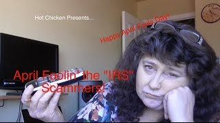 BEST IRS SCAM PHONE CALL EVER!