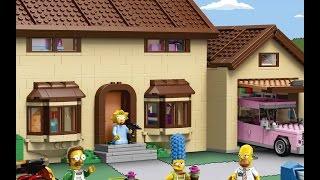 The Simpsons LEGO Set -- ThisIsWhyImBroke Ep. 10