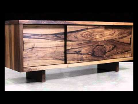 Modern Living Room Furniture Made Of Solid Wood And Exotic