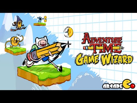 Adventure Time Game Wizard: Fealess Flying Mission Walkthrough (by Cartoon Network) - Ios   Android video