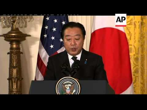 President Obama hosts Japanese PM, photo op, presser