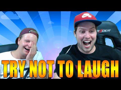 Try Not To Laugh Challenge #3 (Met Vies Eten!)