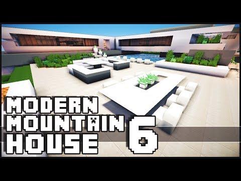 Minecraft Modern Mountain House 6