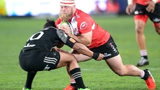 Biggest Rugby Union and League Bumps, Tackles and Fends