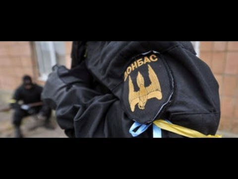"""В Киеве батальон """"Донбасс"""" вышли на акцию против перемирия"""