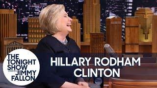 Hillary Clinton on Kate McKinnon and Alec Baldwin