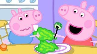 小猪佩奇   精选合集   1小时   乔治不爱吃蔬菜   粉红猪小妹 Peppa Pig Chinese  动画