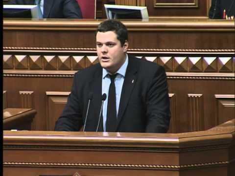 Виступ Андрія Іллєнка на засіданні парламенту 9.10.2013