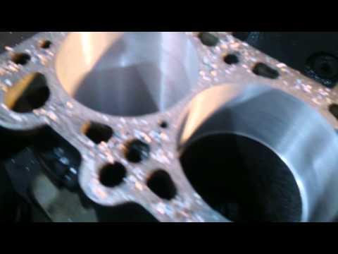 Устранение язв на блоке цилиндров без расточки блока на ваз 2109