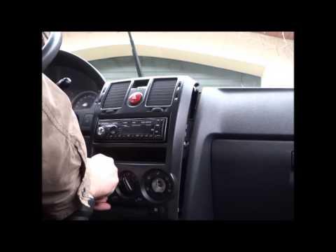 Hyundai Getz wymiana podświetlenia konsoli nawiewu