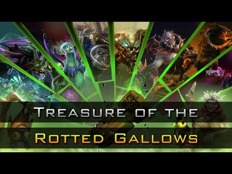 Dota 2 Chest Opening: Treasure of the Rotted Gallows