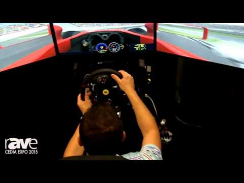 CEDIA 2015: Eleetus Demos Racing and Flying Simulators for Man Caves and Game Rooms