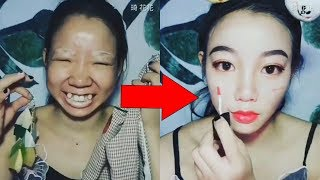 13 Amazing Makeup Transformations 😱 The Power of Makeup 2018 #makeupchallenge