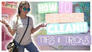 How To Spring Clean   Tips & Tricks