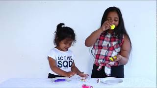 Learning Colours With Goo Slime/ Alisa & Alice FunTube