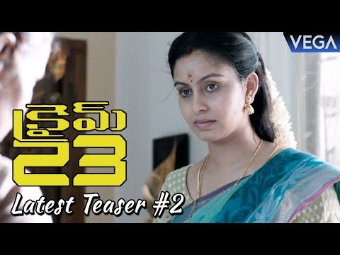Crime 23 Telugu Movie Latest Teaser 2 | Arun Vijay, Mahima Nambiar | Latest Telugu Trailers 2018