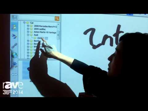 ISE 2014: Hanshin Introduces Its New Camera Sensor for Interactive Whiteboard
