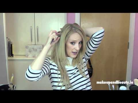 Flip-in Hair Extensions / Halo - Tutorial & Review