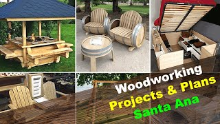 Woodworking Projects & Plans Santa Ana California CA