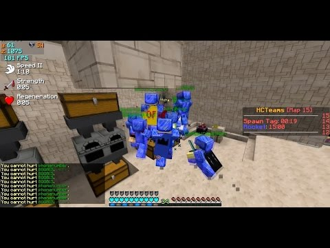 [HCTeams] Lets Play #9 - KILLING 6 PEOPLE IN ONE FACTION + LUCKY HALF A HEART CLUTCH??? (Map 15)