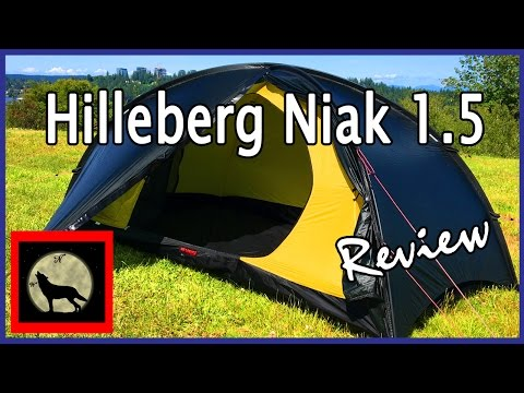Hilleberg Niak 1.5 Lightweight 1-2 Person Backpacking Tent Setup and Review