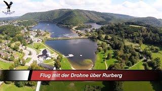 Luftaufnahmen Mit Einer Drohne Von Rurberg / Eifel