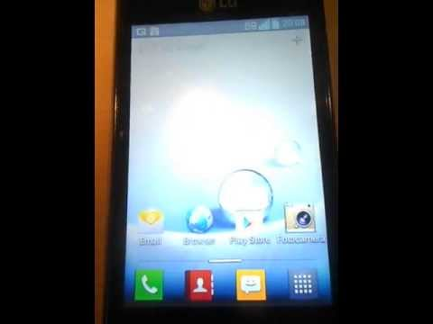 Lg L5 android 4.1.2 jelly bean
