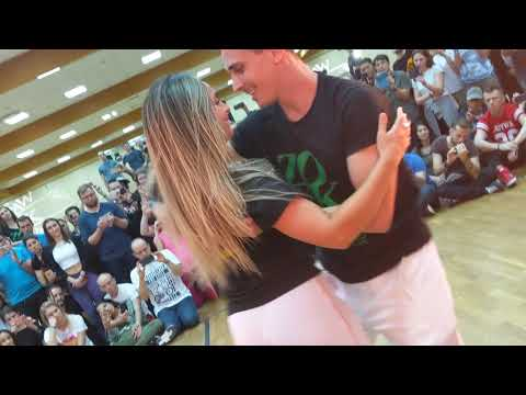 WZF2019: Larissa & Rick in Saturday afternoon class demo ~ Zouk Soul