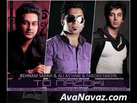Behnam Safavi - Ali Ashabi -farzad Farzin - To Nazdiki. video