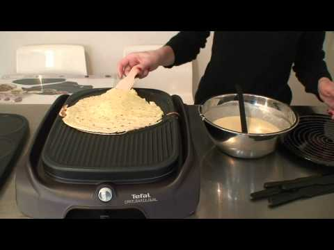 crepiere tefal crep 39 party dual 2 en 1 test par inspiration cuisine youtube. Black Bedroom Furniture Sets. Home Design Ideas