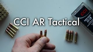 CCI AR Tactical .22LR Review and Mini Mag Comparison