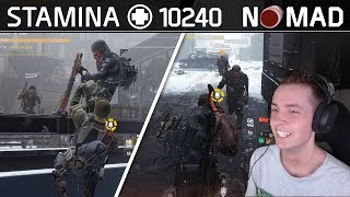 The Division | 10k Stamina Nomad DZ Marathon | Stream Highlights #15