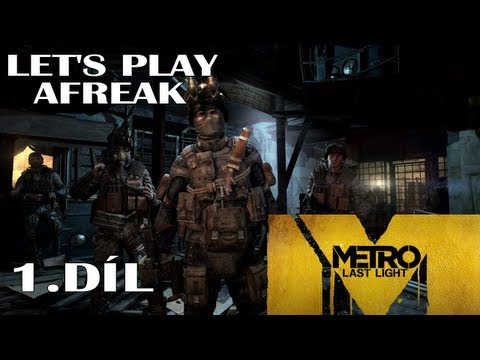 [cz] Metro: Last Light Let's Play: 1 Díl 60 Fps | Ultra Settings video