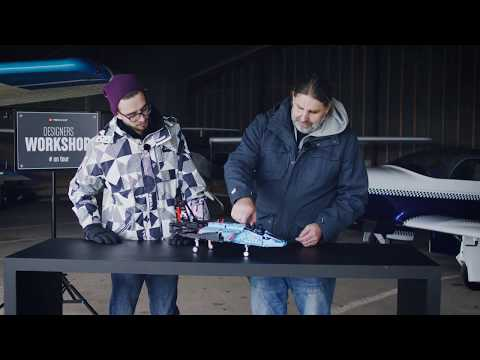 Prepare for take-off with the Air Race Jet! - LEGO Technic - Designer's Workshop On Tour
