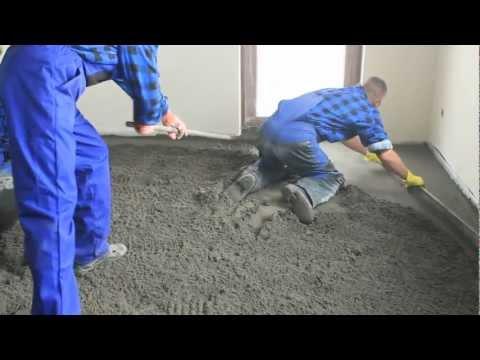 Maszynowe wylewanie posadzek betonowych