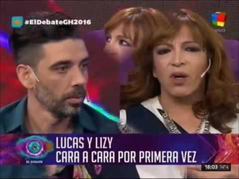 Lizy Tagliani expresó su malestar por los detalles que Lucas Tisera reveló de su relación íntima