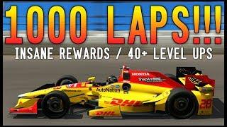 Forza 7 - THE 1000 LAP RACE!!! Longest Race On YouTube So Far - INSANE MONEY and XP