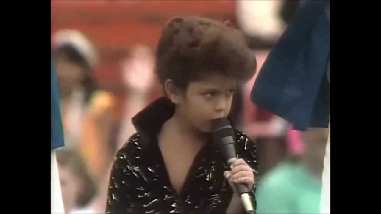 Bruno Mars Show As A Kid