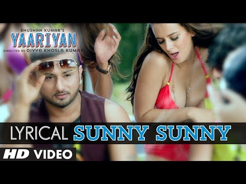 Sunny Sunny Yaariyan  Lyric Video   Ft.yo Yo Honey Singh   Himansh Kohli, Rakul Preet