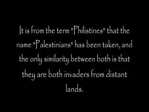 Origin of a People, Who are the Palestinians?