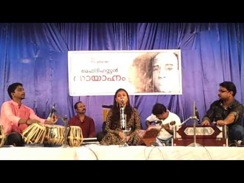 Sithara performing Dil-e-Nadan at Mehdi Hassan Ghazal Evening