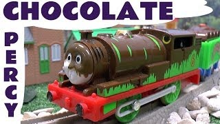 Spotlight Thomas the Train Percy's Chocolate Crunch by Tomy Takara for Trackmaster Toy Train Set