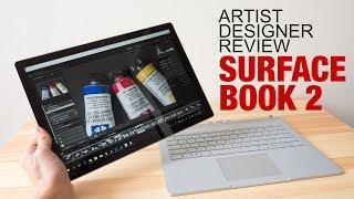 Microsoft Surface Book 2 (Artist Designer Review)