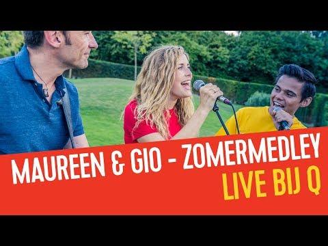 Maureen & Giovanni Kemper mixen alle zomerhits van 2018 aan elkaar | Qmusic