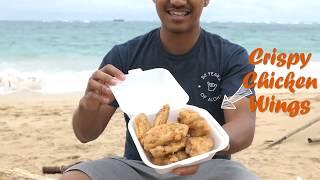 EATING VIDEO: Foodland Deli SALT & VINEGAR CHICKEN WINGS