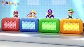 Super Mario Party | All Free for All Minigames Ep2 Mario, Wario, Luigi, Waluigi | ZigZag Kids HD