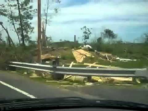 Massachusetts Tornado Disaster: RT 19 - Brimfield, MA 6-1-11